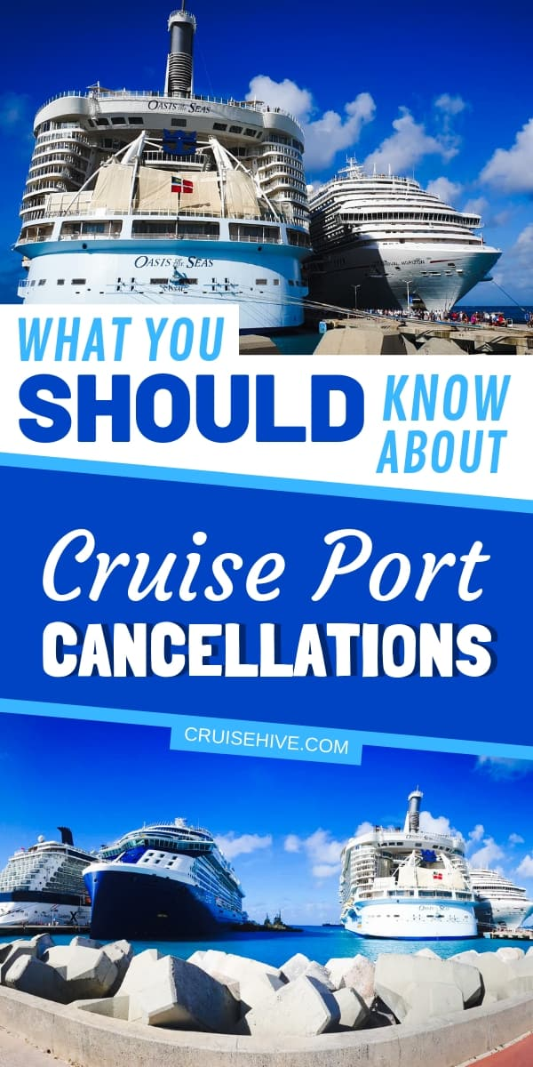 Cruise tips on what to know about cruise cancellations. Mainly catered on those canceled port of calls and how to deal with it. Read on to be fully prepared for that vacation at sea!