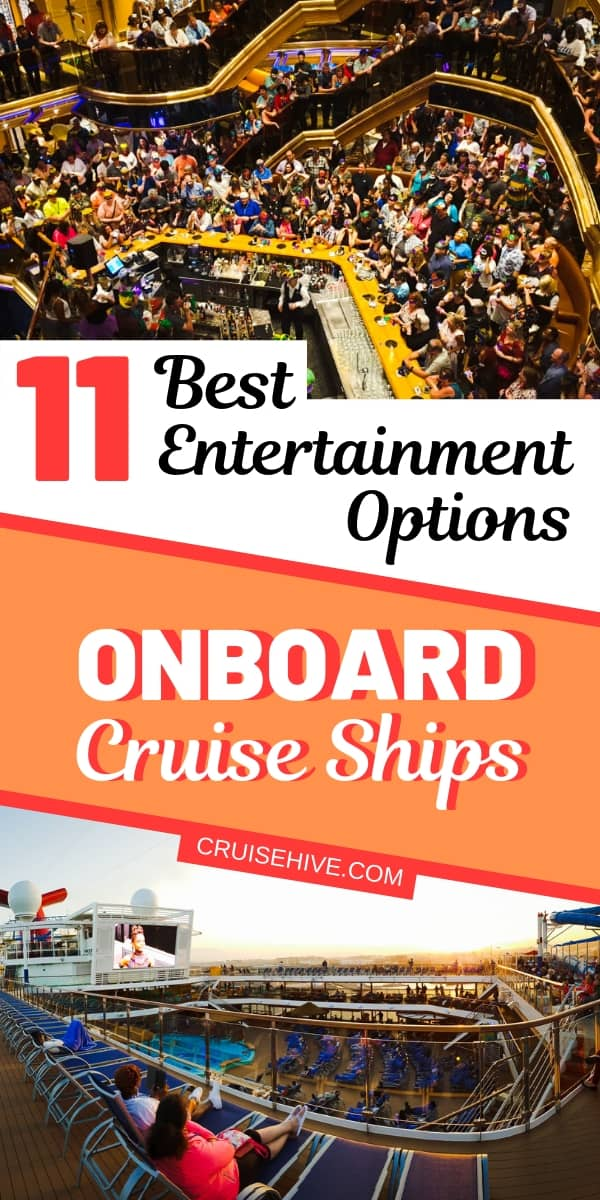 Here the best entertainment options which can be enjoyed on cruise ships. Read on to find out more about these fun options.