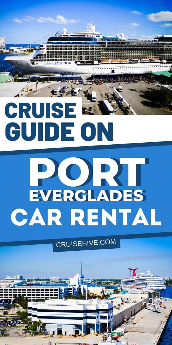 Helpful details and information on Port Everglades car rental in Fort Lauderdale, Florida. Catered for those going on a cruise ship vacation.