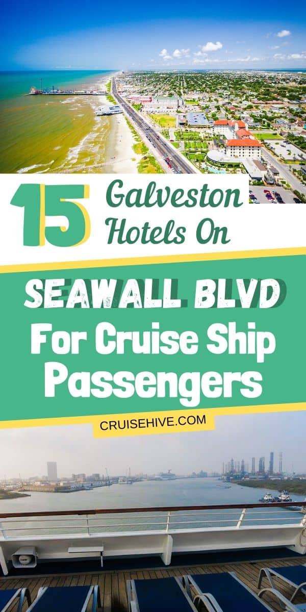 Galveston Hotels on Seawall