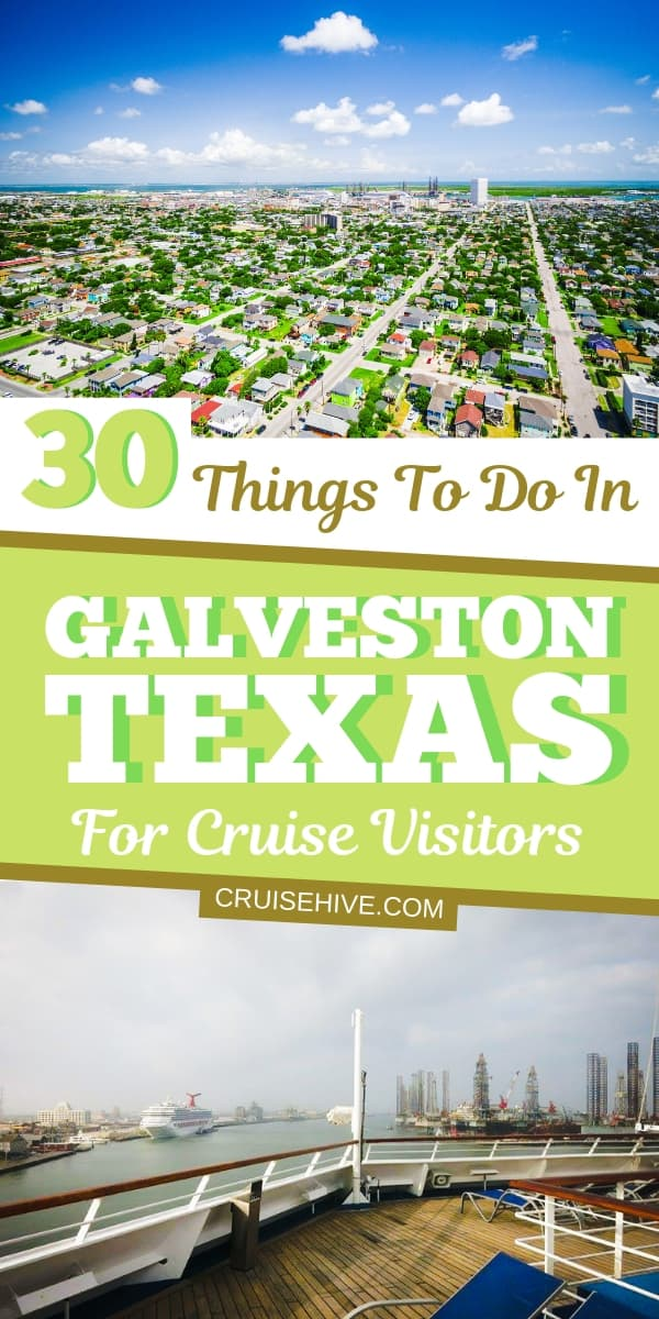 Here's a list of things to do in Galveston, Texas for those going on a vacation from the cruise port. Covering the island beaches, restaurants, and even the pleasure pier. Read on for these travel tips.