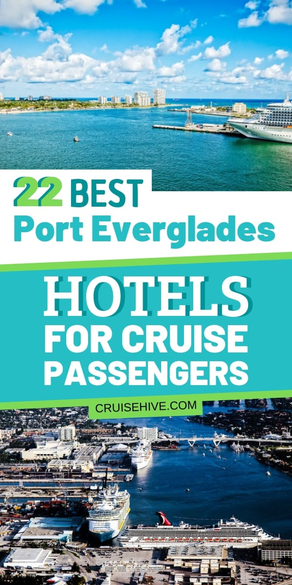 Travel tips for Port Everglades hotels for cruise ship passengers. Catered for those traveling to the cruise port in Fort Lauderdale, Florida