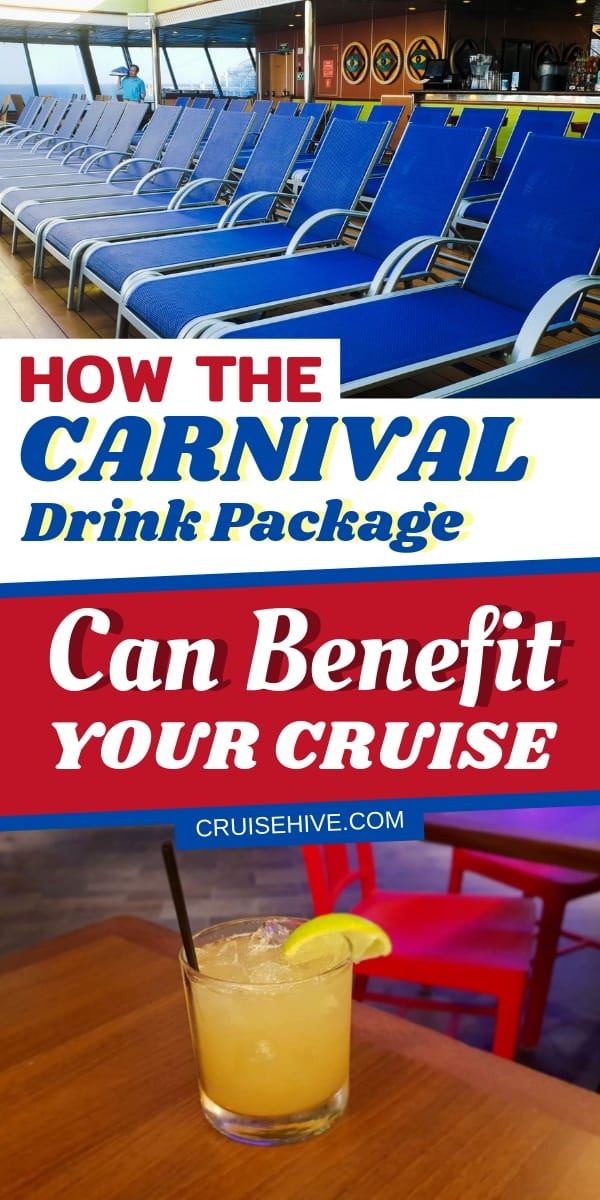 Find out about Carnival's all-inclusive CHEERS beverage offering. Cruise tips and what you need to know about the Carnival drink package with prices and guidance.