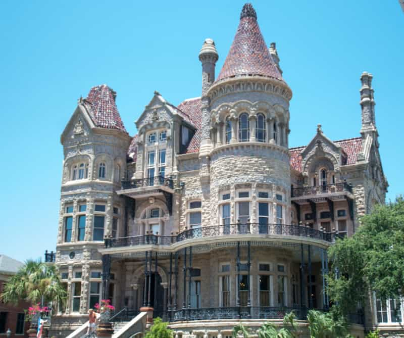 Bishop's palace, Galveston