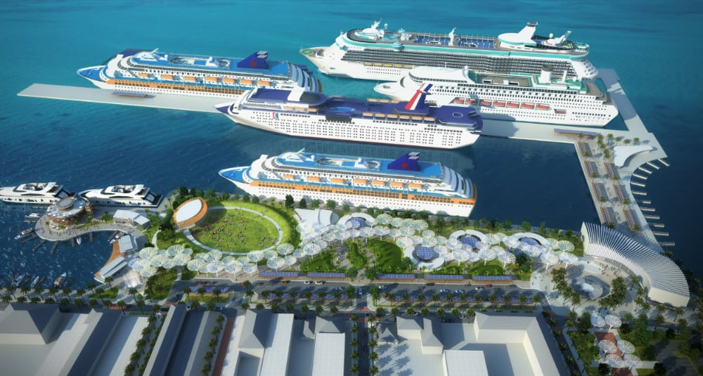 Future Nassau Cruise Port