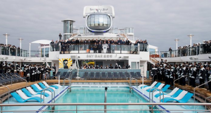 Spectrum of the Seas Delivery