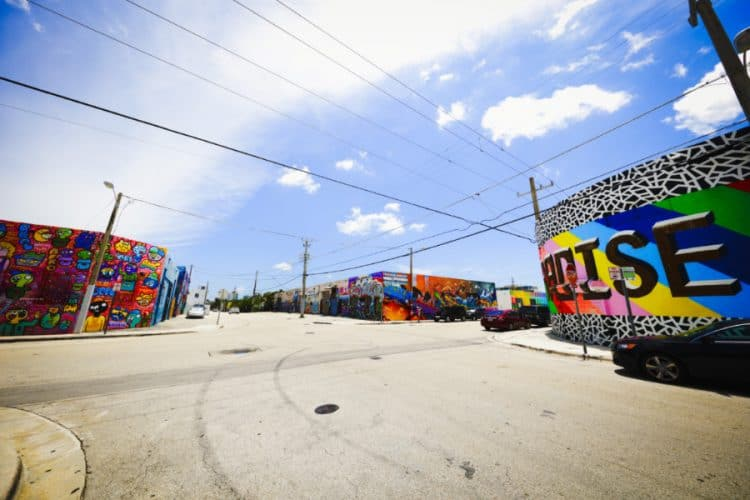 Air Art Exhibit at Wynwood Walls