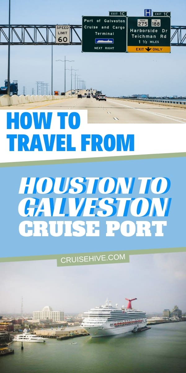 Find out how to travel from Houston to Galveston cruise port for that dream vacation from Texas. Covering transportation from nearby airports, car rentals and even the routes to take.