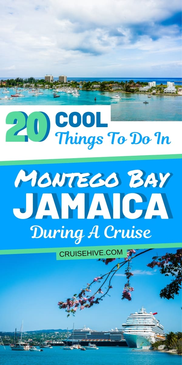 Find out about the 20 coolest things to do in Montego Bay, Jamaica for cruise ship visitors. Covering shore excursions and the popular Hip Strip.
