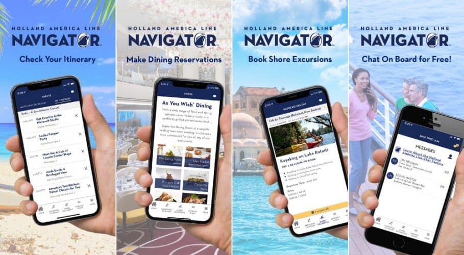 Holland America Navigator App