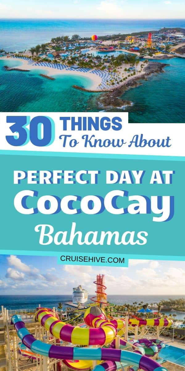 Here is the absolute guide on things to know about Perfect Day at CocoCay, Bahamas which is a private cruise island destination owned by Royal Caribbean.