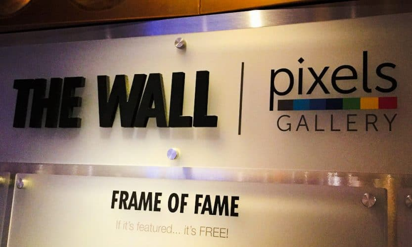 Carnival Cruise Line Pixels Photo Wall