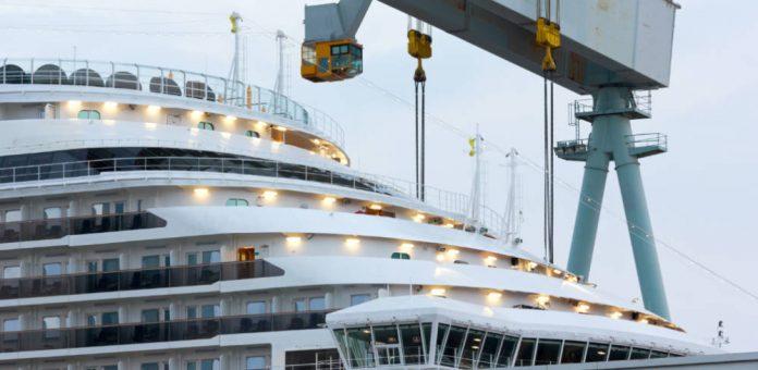 Carnival Cruise Ship Under Construction
