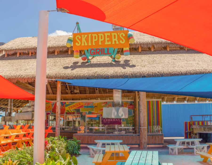 Skipper's Grill at Perfect Day at CocoCay