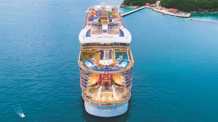 Oasis of the Seas Aft