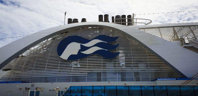 Princess Cruise Ship Funnel
