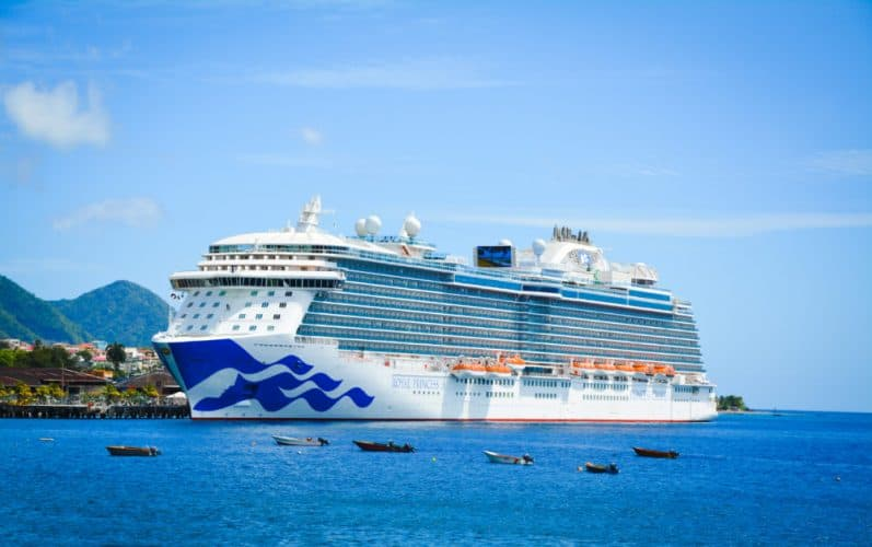 Royal Princess in the Caribbean