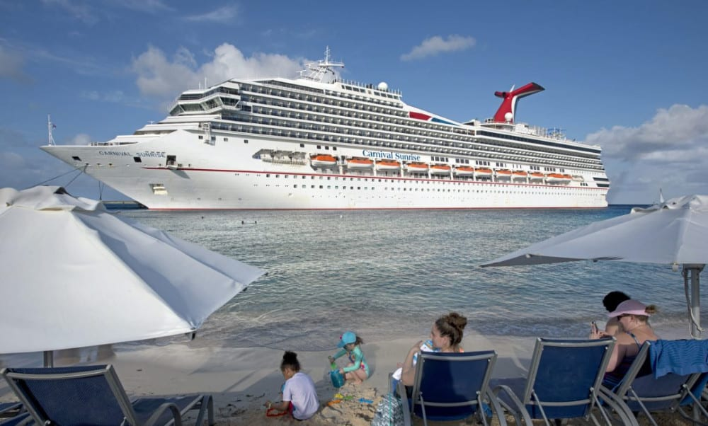 Carnival Sunrise in Grand Turk