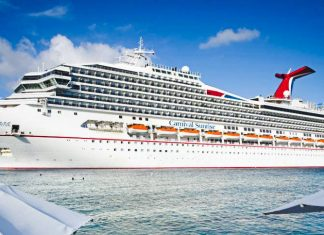 Carnival Sunrise Cruise Ship