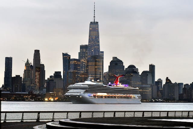 Carnival Sunrise in New York