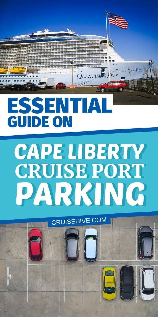 Cape Liberty Cruise Port Parking