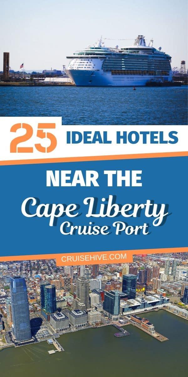 Cape Liberty Cruise Port Hotels