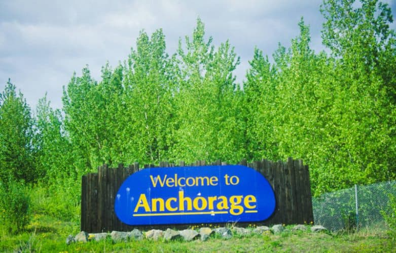 Welcome to Anchorage, Alaska