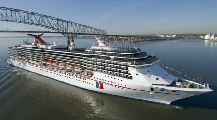 Carnival Pride at Port of Baltimore