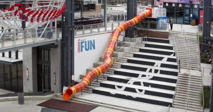 Carnival Cruise Line Slide