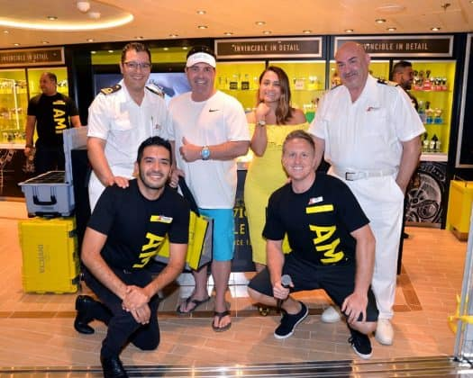 Invicta Store on Carnival Horizon