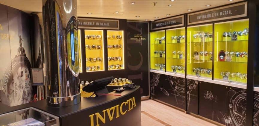 Carnival Horizon Invicta Store