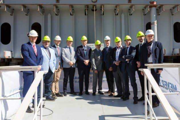 Carnival Mardi Gras Keel Laying Ceremony