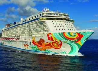 Norwegian Getaway at St. Thomas