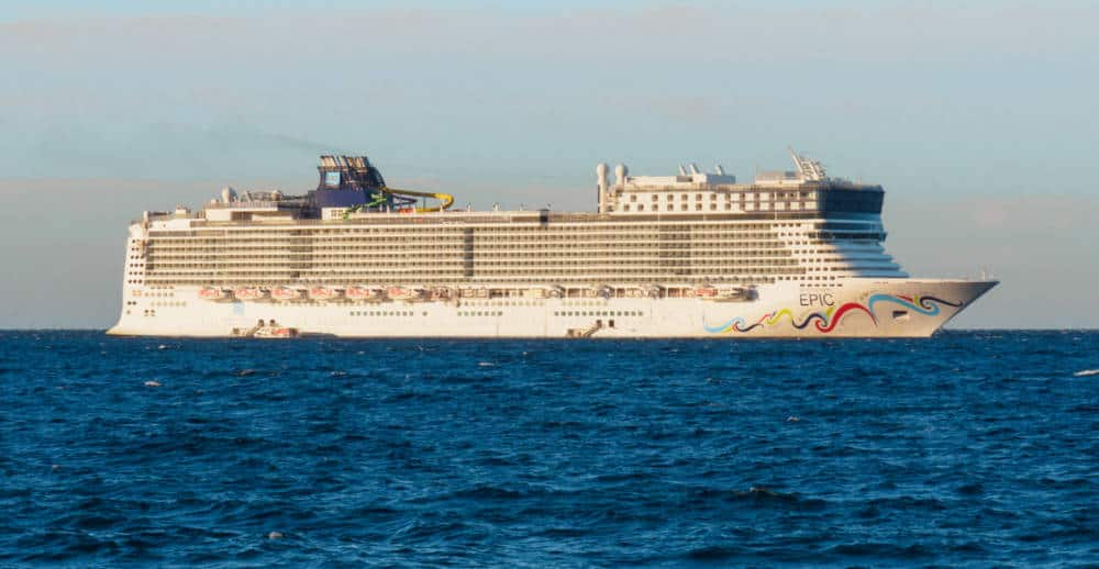 Norwegian Epic at Sea