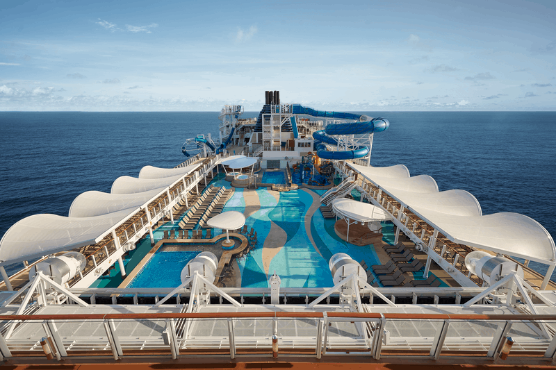Norwegian Joy Open Deck