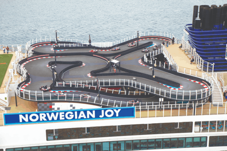 Cruise Ship Race Track