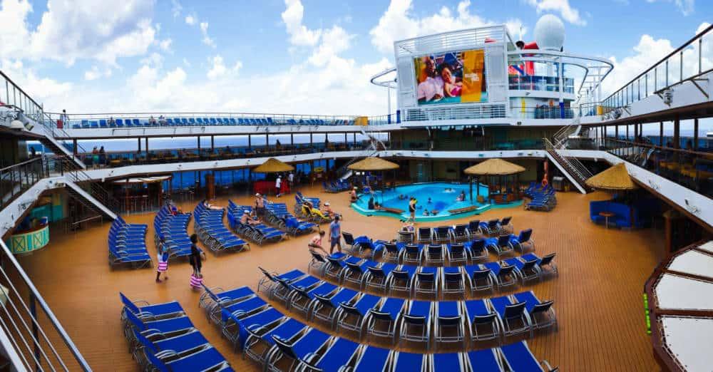 Carnival Cruise Line Lido Deck