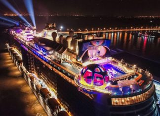 Spectrum of the Seas Naming Ceremony in China