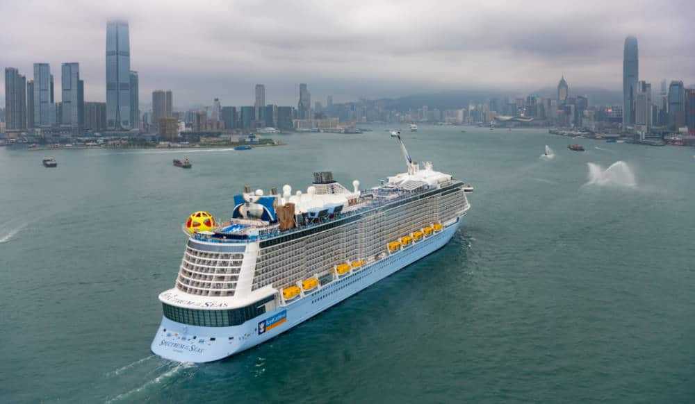 Spectrum of the Seas in Hong Kong