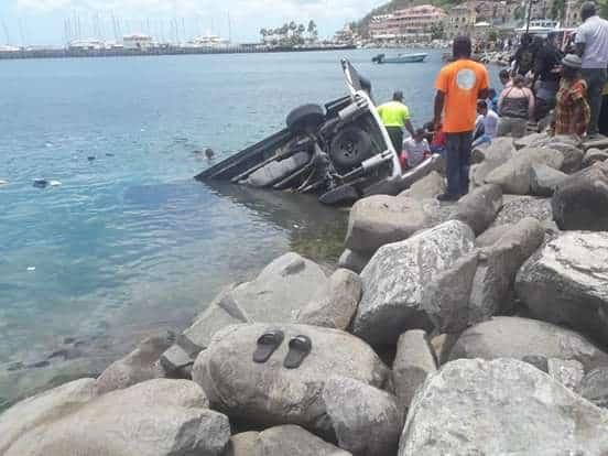 St. Martin Minivan Accident