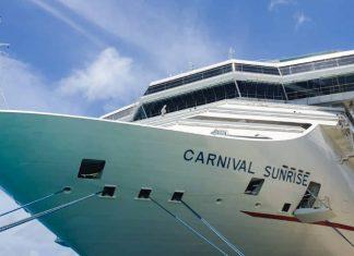 Carnival Sunrise Cruise Ship