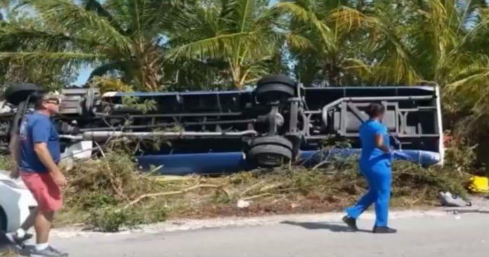 Carnival Ecstasy Tour Bus Crash