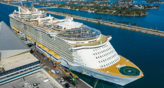 Allure of the Seas in Miami
