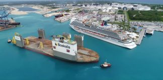 Carnival Vista Floating Dry Dock