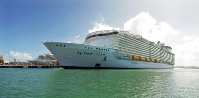 Harmony of the Seas Docked in San Juan