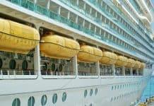 Docked Royal Caribbean Cruise Ship