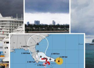 Royal Caribbean Hurricane Dorian