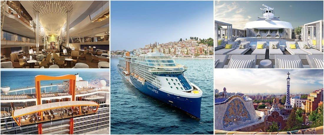 Celebrity Apex Europe Sailings