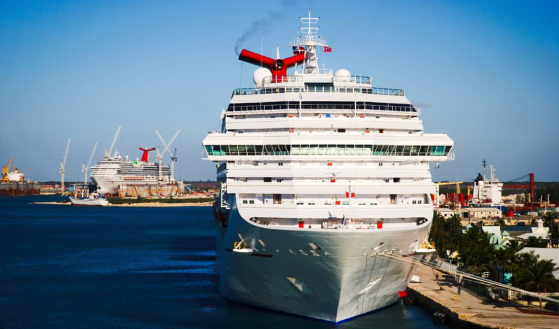 Carnival Cruise Dry Dock