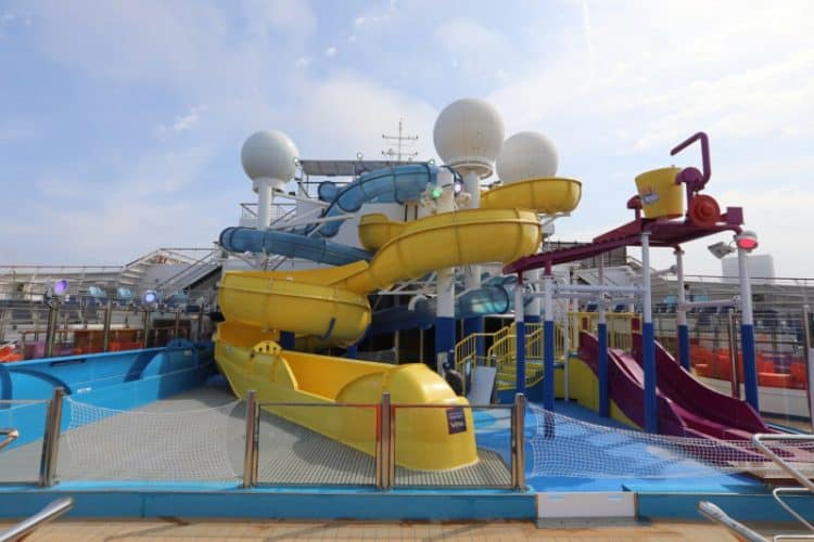 Carnival Freedom WaterWorks